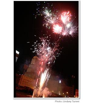 Autozone Park Fireworks
